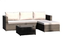 Spectrum 3 PC Sofa Sectional Set w/cushion