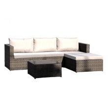 Spectrum 3 PC Sofa Sectional Set w/cushion