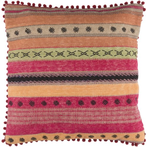 "Marrakech MR-003 14"" X 22"" Pillow Shell with Polyester Insert"