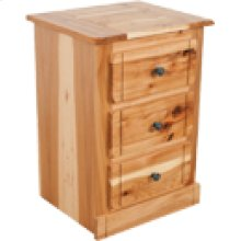 HT363 Hickory 3 Drawer Nig