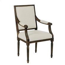 Artisans Shoppe French Arm Chair Black Forest
