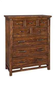 Wolf Creek Six Drawer Media Chest