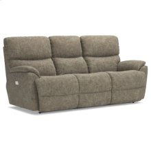 Trouper PowerRecline La-Z-Time® Full Reclining Sofa w/ Power Headrest