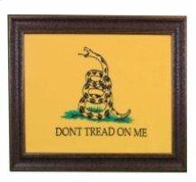 """Small """" Dont Tread on Me"""" Flag W/Matt"""