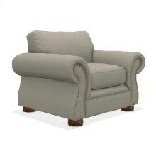 Pembroke Chair w/ Brass Nail Head Trim