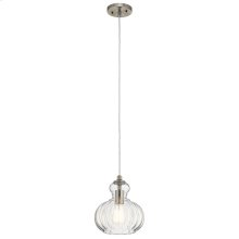 Riviera Collection Riviera 1 Light Mini Pendant NI