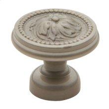 Satin Nickel Ornamental Knob