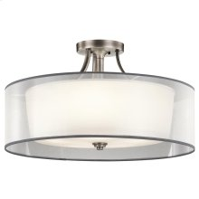 Lacey Collection Lacey 5 Light Semi Flush Ceiling Light - AP