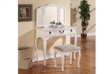 Vanity Set W/ Stool Product Image
