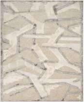 Christopher Guy Wool Collection Cgw16 Eggshell/misted Morning Rectangle Rug 8' X 10'