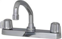 Chrome Gerber® Classics Two Handle Kitchen Faucet
