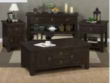 Kona Grove Cabinet Chairside Table