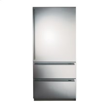 Stainless Steel Bottom Freezer Refrigerator