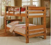 Bookcase Bunk Bed