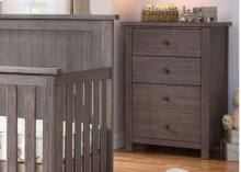 Northbrook 3 Drawer Chest - Rustic Grey (084)