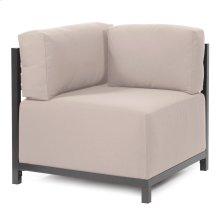 Axis Corner Chair Seascape Sand Titanium Frame