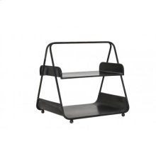 Etagere 2 layers 35x28x34 cm MEDBY anthracite