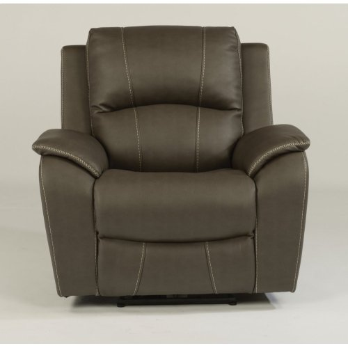 Marina Fabric Power Recliner with Power Headrest