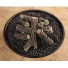Ceramic Log Kit W/ Lava Granules Product Image