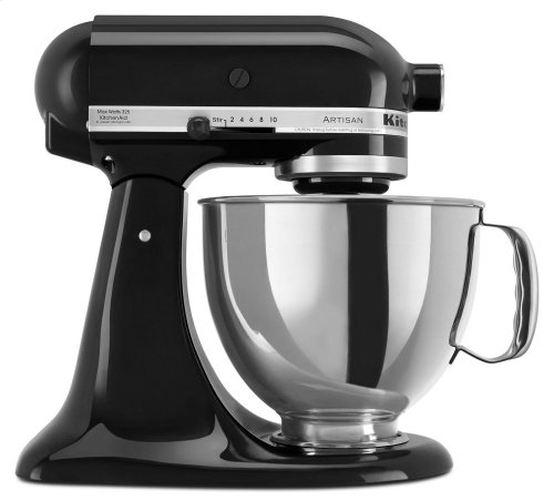 Artisan® Series 5 Quart Tilt-Head Stand Mixer - Onyx Black