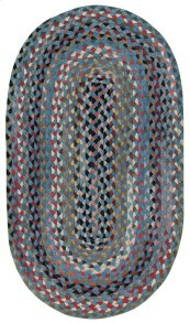 Plymouth Colony Blue Braided Rugs