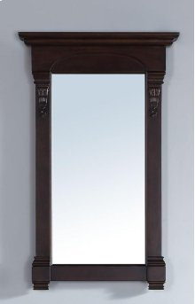 "Brookfield 26"" Mirror, Burnished Mahogany"