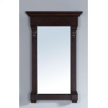 "Brookfield 26"" Mirror, Burnished Mahogany"