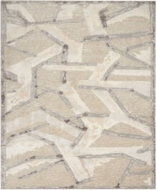 Christopher Guy Wool Collection Cgw16 Eggshell/misted Morning Square Rug 12' X 12'