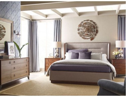 Astro Upholstered Queen Bed Package