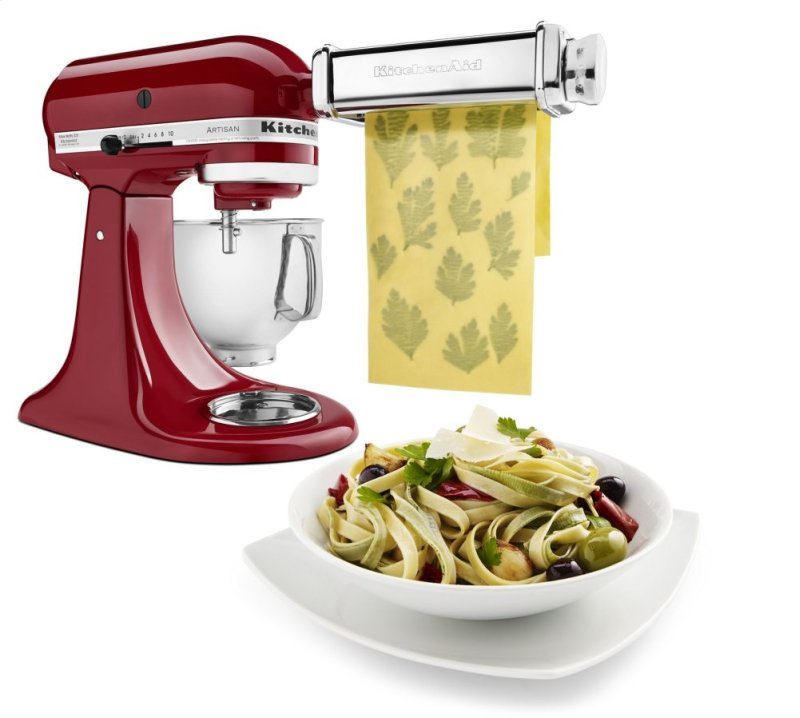 KPRA in Other by KitchenAid in Waterbury, VT - Pasta Roller & Cutter Kitchenaid Kpra Pasta Roller And Cutter Set In One on