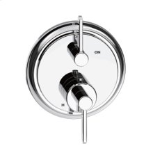 Dual Control Thermostatic With Volume Control Valve Trim Darby Series 15 Polished Chrome