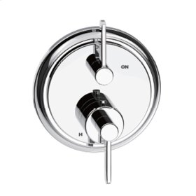 Dual Control Thermostatic with Volume Control Valve Trim Darby (series 15) Polished Chrome