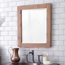Whitewash Americana Mirror