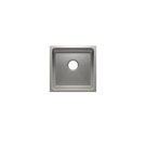 """Classic 003225 - undermount stainless steel Bar sink , 15"""" × 15"""" × 7"""" Product Image"""