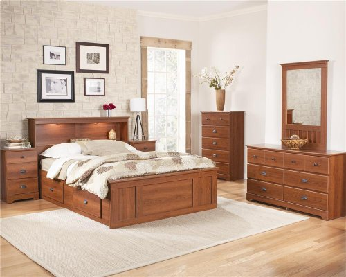 4-Drawer H20 Captains Bed - King