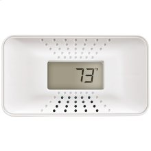 Carbon Monoxide Alarm with Temperature Digital Display