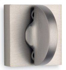Modern Square Turnpiece - Solid Brass in US10B (Oil-rubbed Bronze, Lacquered)