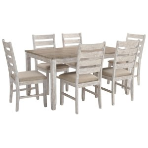 Ashley FurnitureSIGNATURE DESIGN BY ASHLESkempton Dining Room Table and Chairs (set of 7)