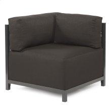 Axis Corner Chair Seascape Charcoal Titanium Frame
