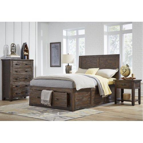 Jackson Lodge Rails for Full Storage Bed