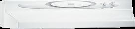 "Broan 220 CFM, 30"" Undercabinet Range Hood in White Monochromatic"