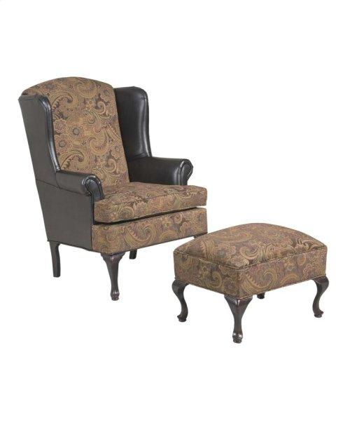 2200 Silas Ebony Wing Back Chair