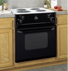 "GE Spacemaker® 27"" Drop-In Electric Range with Standard Clean Oven"