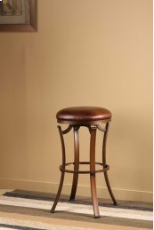 Kelford Backless Swivel Bar Stool - Bronze