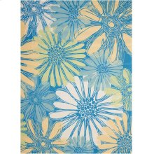 Home & Garden Rs022 Bl Rectangle Rug 5'3'' X 7'5''