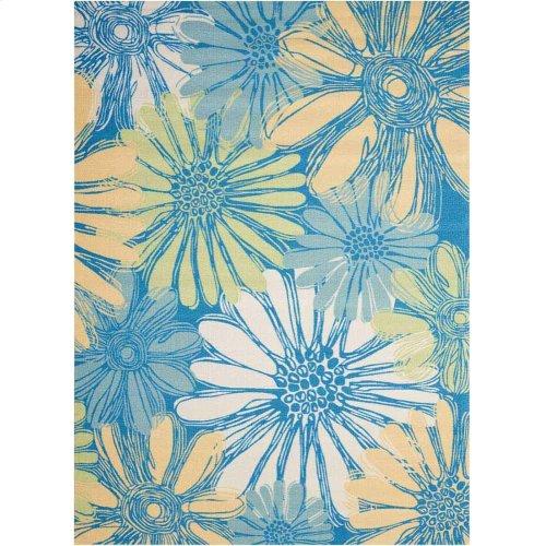 Home & Garden Rs022 Bl Rectangle Rug 5'3'' X 7'5''