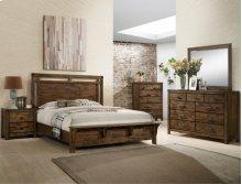 Crown Mark B4810 Curtis Panel Queen Bedroom