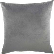"Luminescence Qy168 Light Grey 18"" X 18"" Throw Pillows"