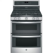 """30"""" Free-Standing Gas Double Oven Convection Range"""