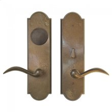 Arched Card Lock Trim Silicon Bronze Brushed